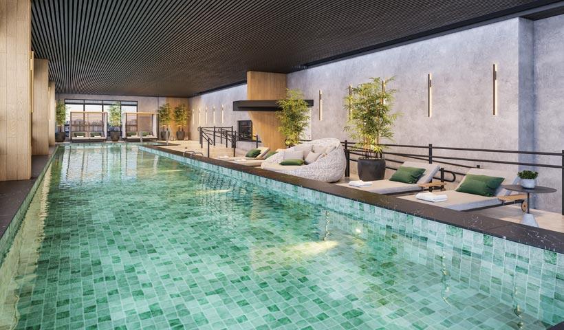 air brooklin – piscina coberta aquecida de 25 m