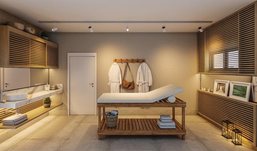 air brooklin – sala de massagem