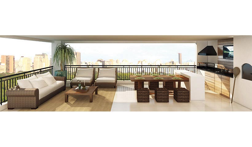 Art'e - Terraço de 216 m²