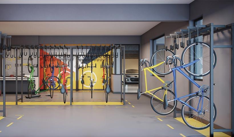 Artis Jardim Prudência – Bicicletário