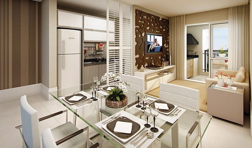 Bosque Ventura – Living de 65 m²