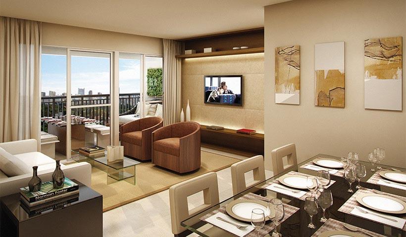 Bosque Ventura – Living de 79 m²