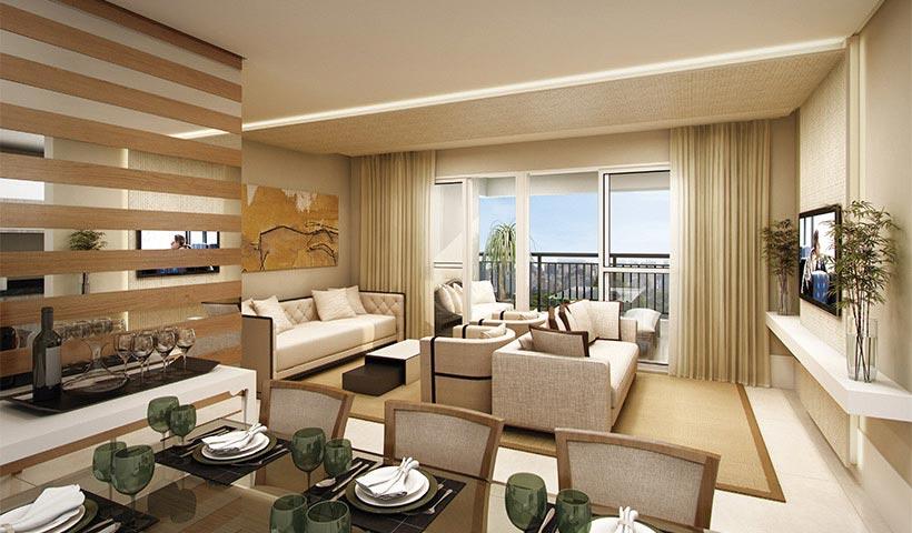 Bosque Ventura – Living de 96 m²