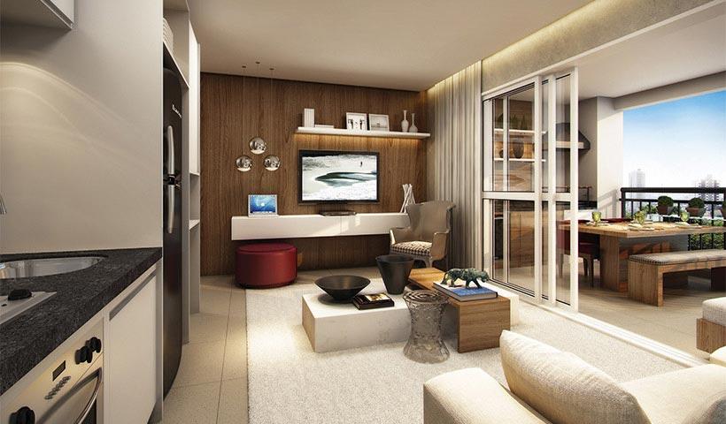 Brasiliano - Living de 51 m²