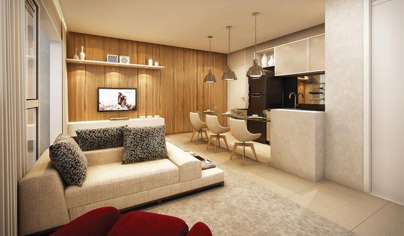 Brasiliano - Living de 63 m²