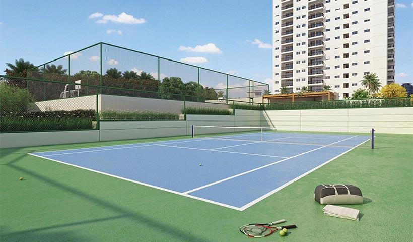 Chácara Cantareira – Quadra de tênis