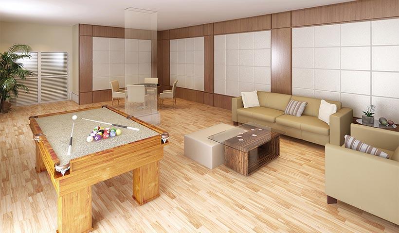 Chácara Sant'Anna – Salão de jogos adulto