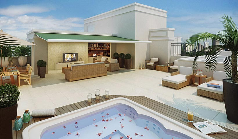 Chateau Monet – Cobertura de 131 m²