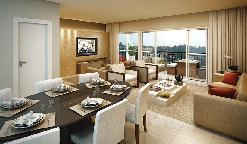 Chateau Monet – Living de 105 m²