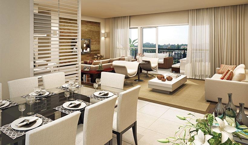 Chateau Monet – Living de 131 m²