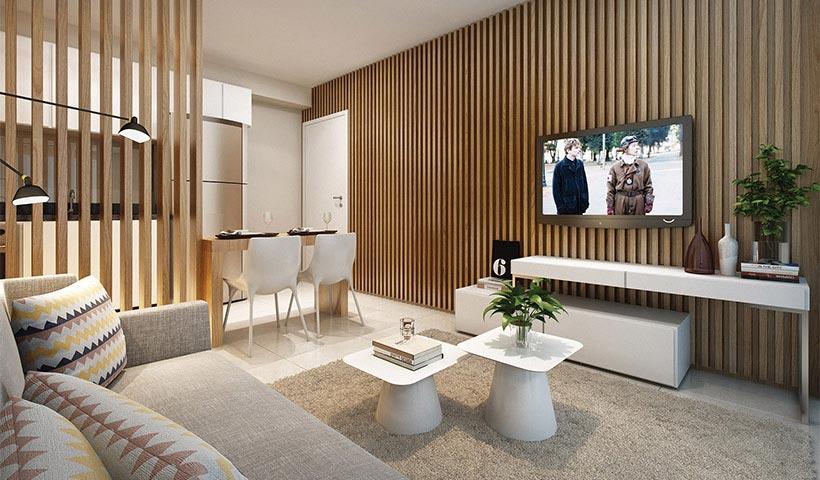 Alameda – Living de 56 m²