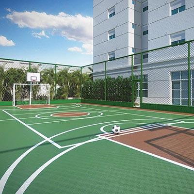 Cidade Maia - Jardim - Quadra recreativa