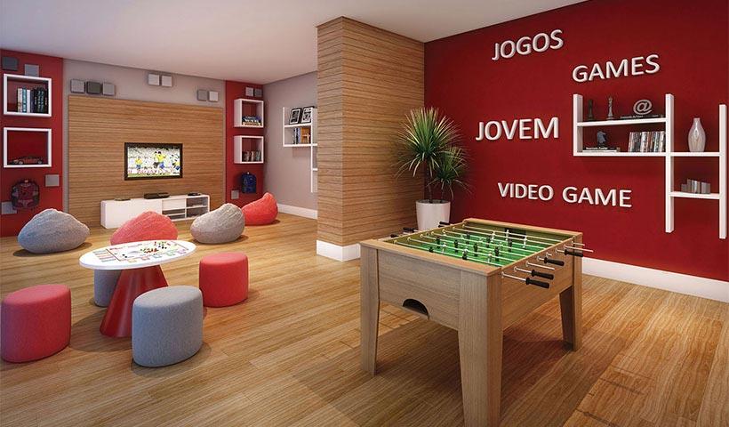 Praça – Salão de jogos juvenil
