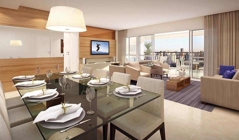 Reserva – Living de 154 m²