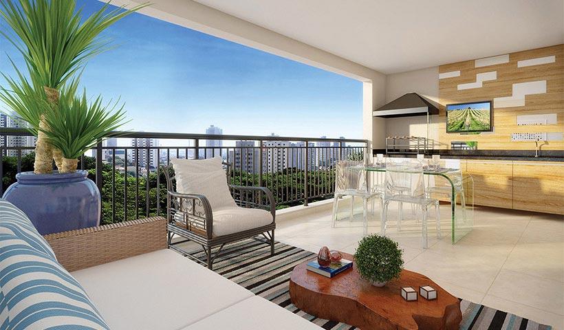 Reserva – Terraço de 154 m²