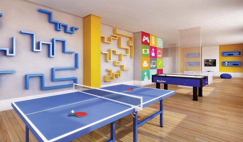 Reserva – Salão de jogos juvenil