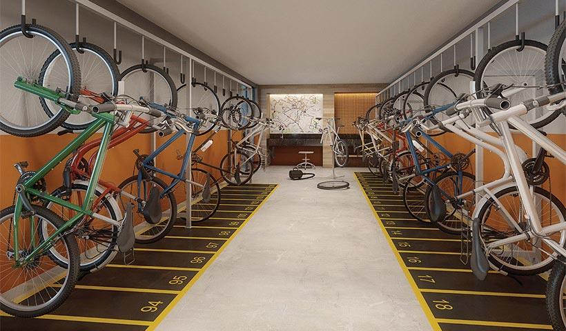 Clima São Francisco – Bicicletário
