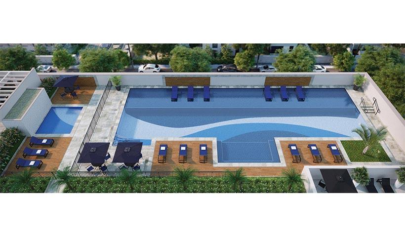 Clima São Francisco – Voo piscina
