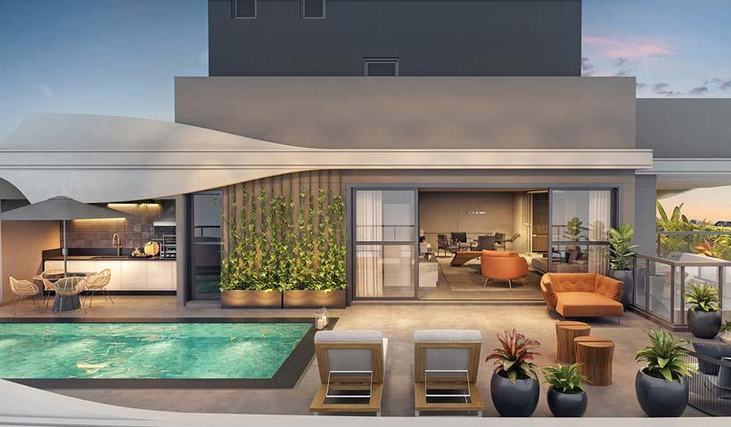 EZ Infinity - Terraço Superior Duplex