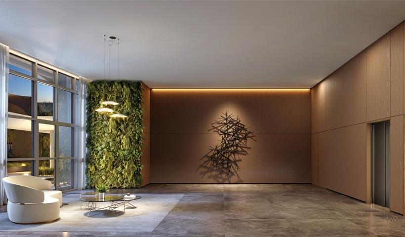 EZ Infinity – Lobby/Acesso - Design Tower