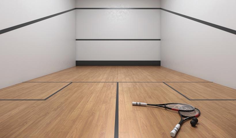 EZ Infinity - Quadra de Squash