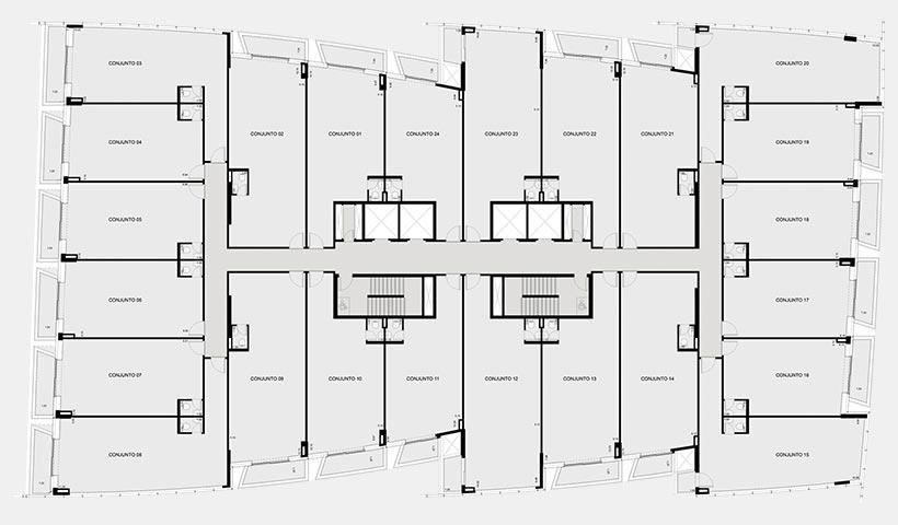 EZ Mark – Planta 7 pavimento – Bloco Paris