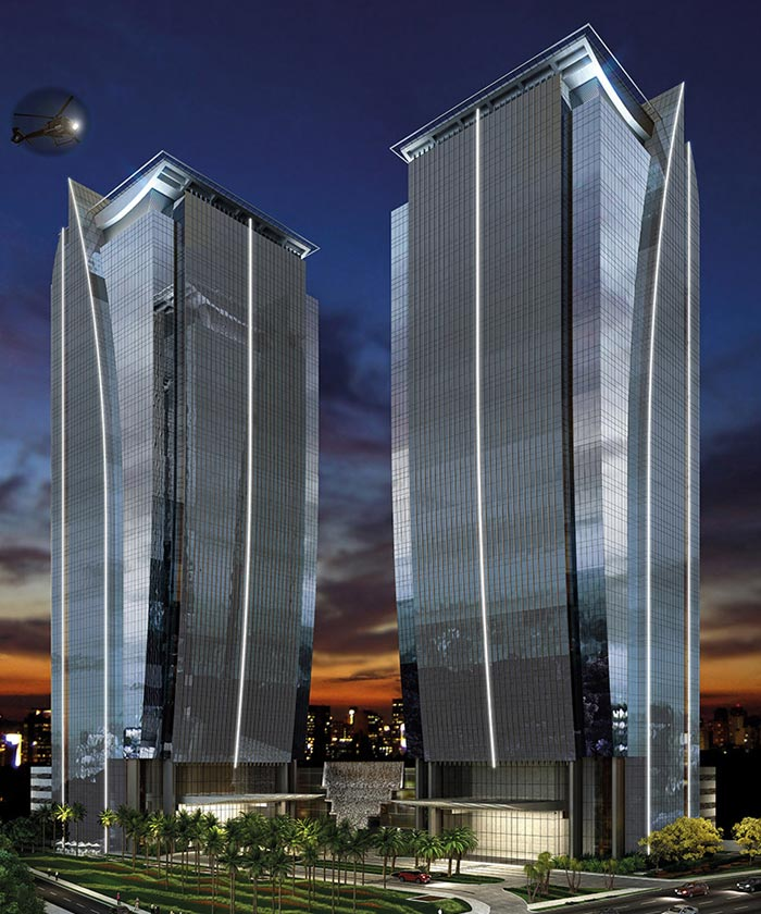 EZ Towers - Fachada