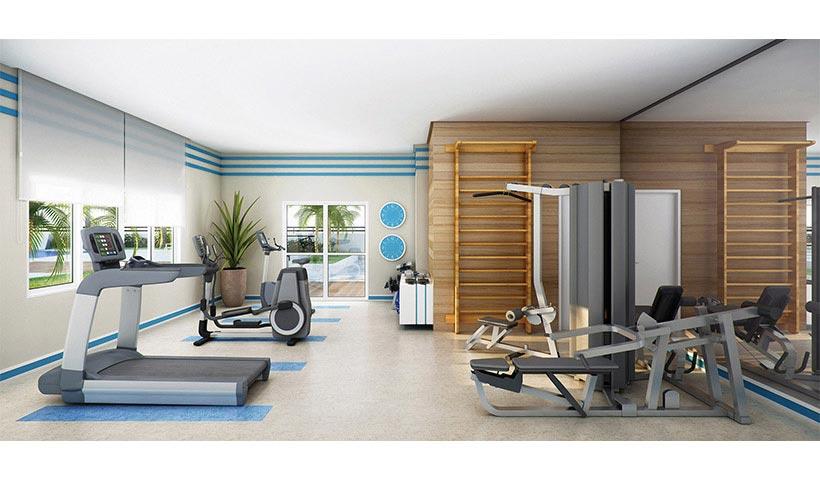 Gran Quadra Palazzo – Fitness