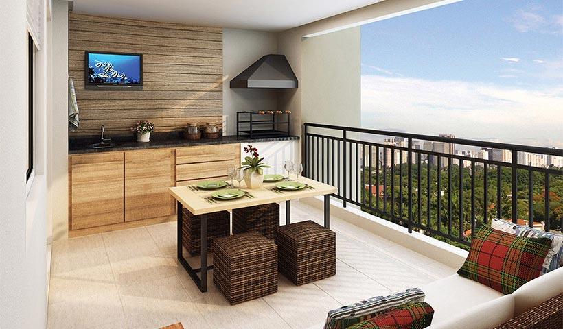 Gran Village Vila Formosa – Terraço de 65 m²