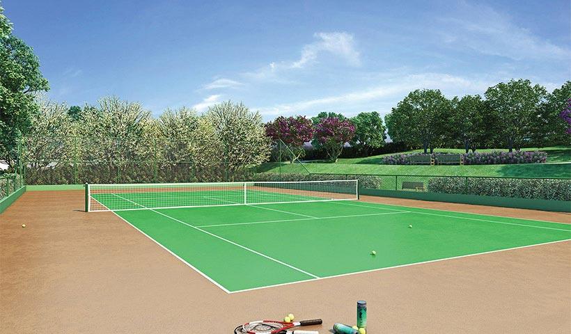 Gran Village Vila Formosa – Quadra de tênis
