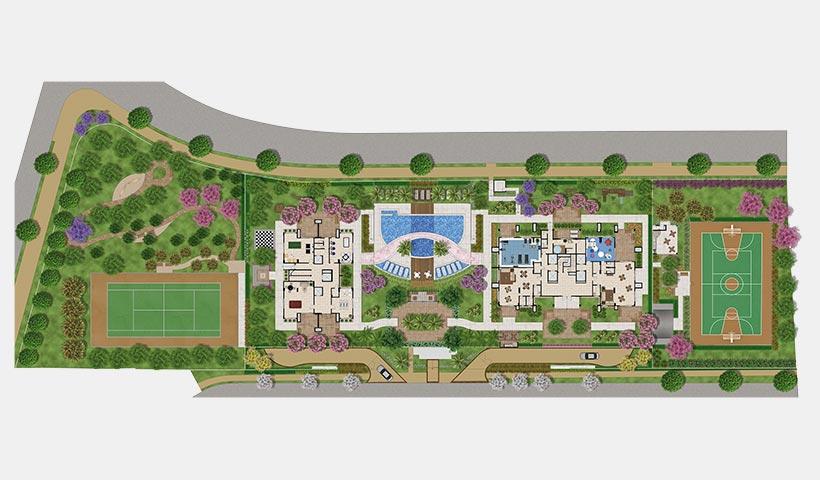 Gran Village Vila Formosa – Implantação