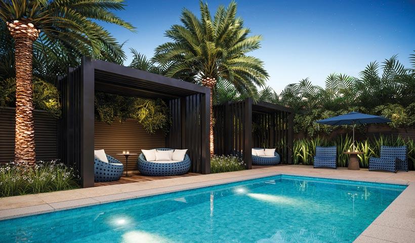 Haute Ibirapuera – bangalô piscina
