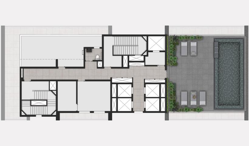 ID Jauperi – implantação do lazer 15º andar