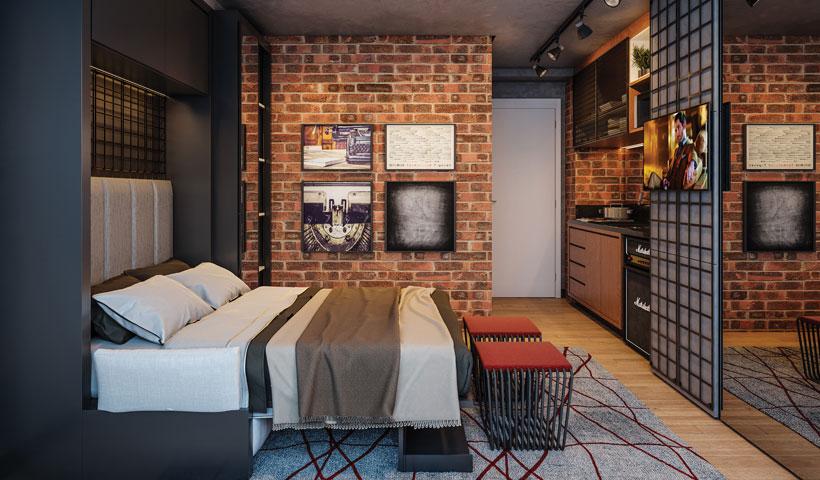 ID Lisboa - Living do Studio Residencial