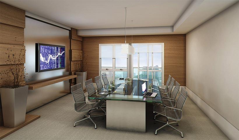 In Design Office – Sala de reunião