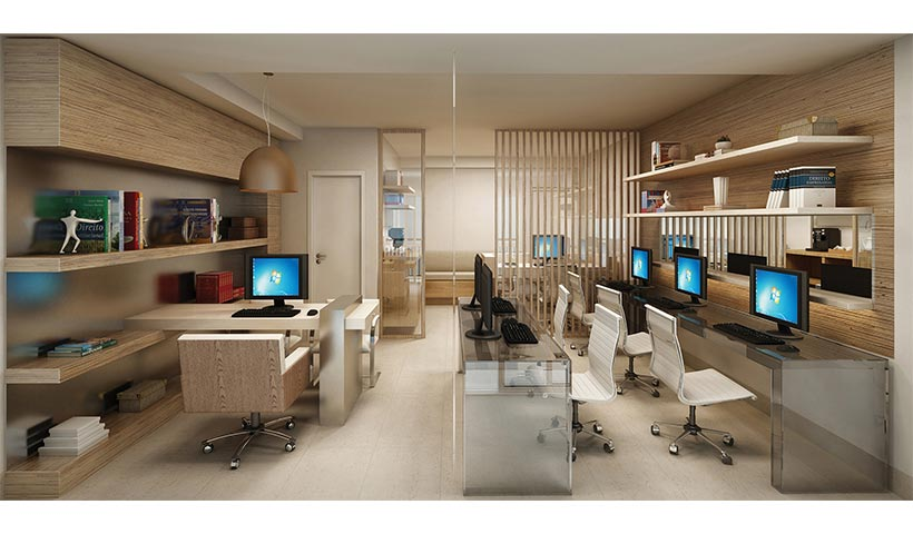 In Design Office – Sala de advocacia