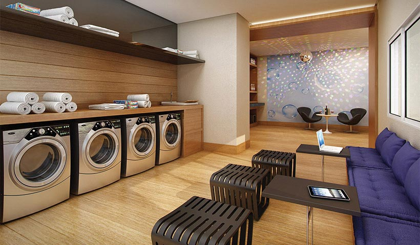 In Design Residence – Cyber laundry