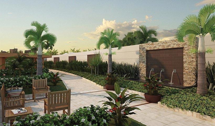 In Design Residence – Praça de entrada