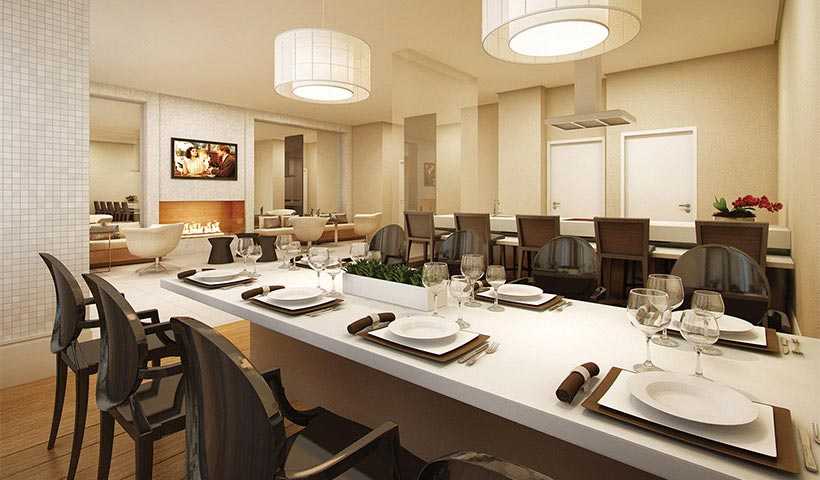In Design Residence – Salão de festas