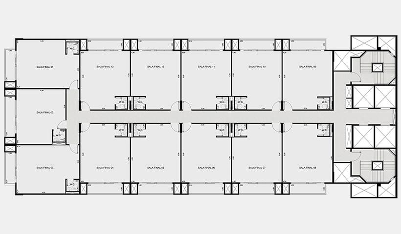 In Design Office – Planta pavimento