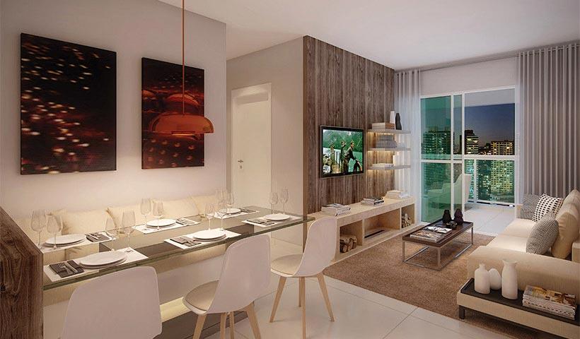 In Design Liberdade – Living de 70 m²