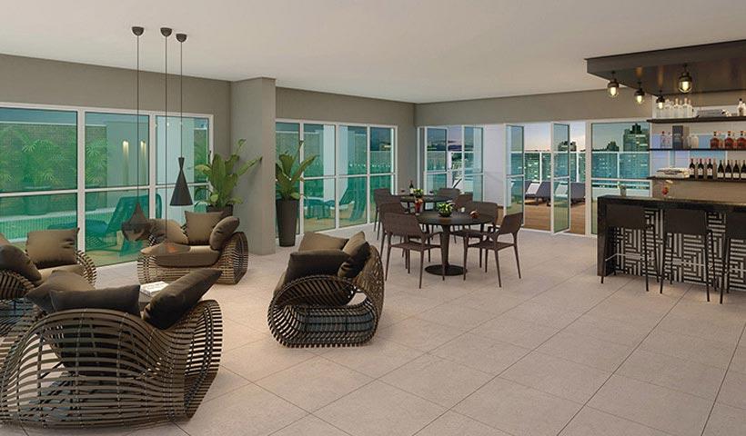 In Design Liberdade – Lounge piscina