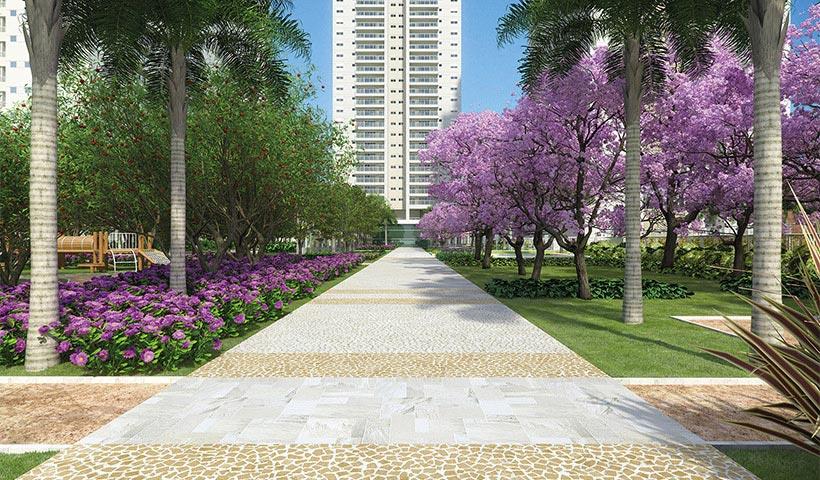Jardins do Brasil Atlântica – Boulevard de entrada