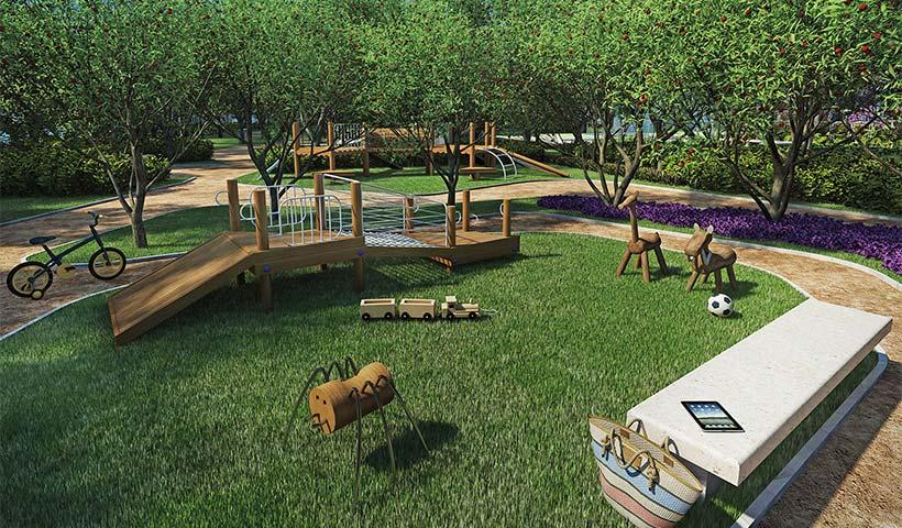 Jardins do Brasil Atlântica – Playground – Praça central
