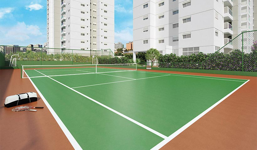 Jardins do Brasil Atlântica – Quadra de tênis