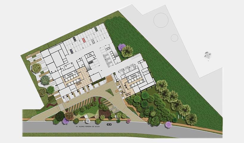 Jardins do Brasil Empresarial – Implantação