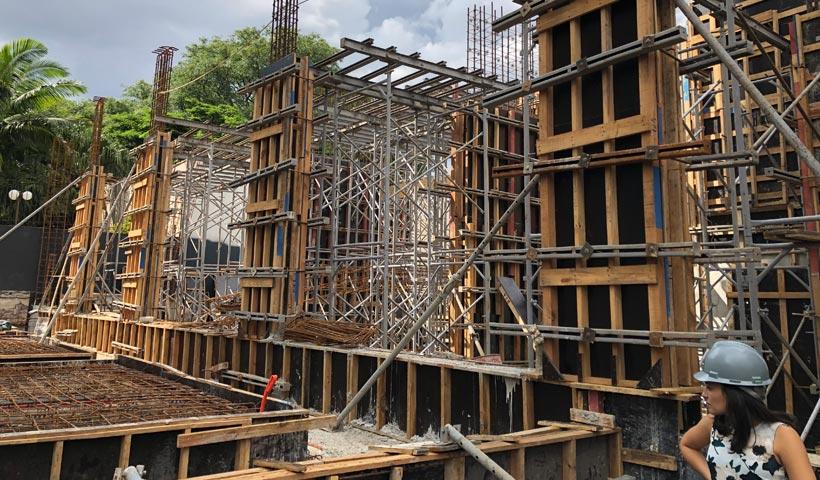 Torre - estrutura térreo