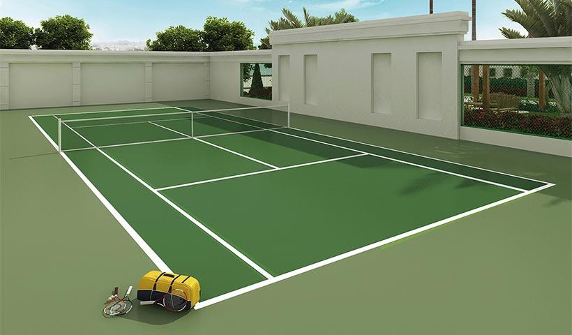 Le Premier Ibirapuera Parc – Quadra de tênis
