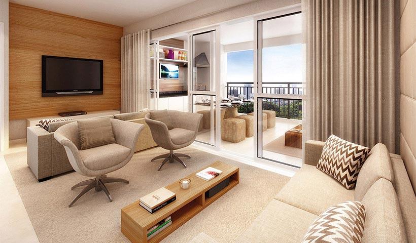 Legittimo Alto de Santana – Living de 92 m²