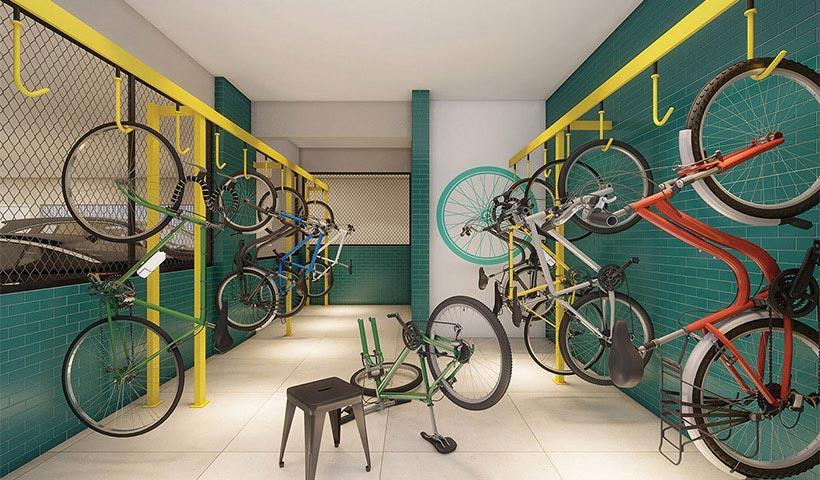 Legittimo Vila Romana – Bicicletário